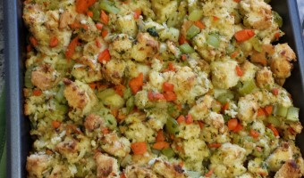 The Best Thanksgiving Stuffing!