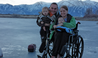 Ice Fishing in a Wheelchair? Check!