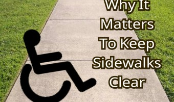 Raise Awareness: Why it Matters to Keep Sidewalks Clear