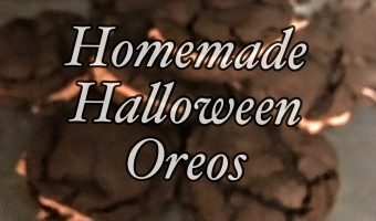 Halloween Goodies: A Frog Candy Container and Homemade Oreos
